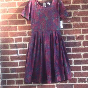 LuLaRoe Amelia sz M Dress NEW w/tags